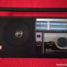 Radios antiguas: RADIO SILVANO SL-102 AM/FM. Lote 193801571