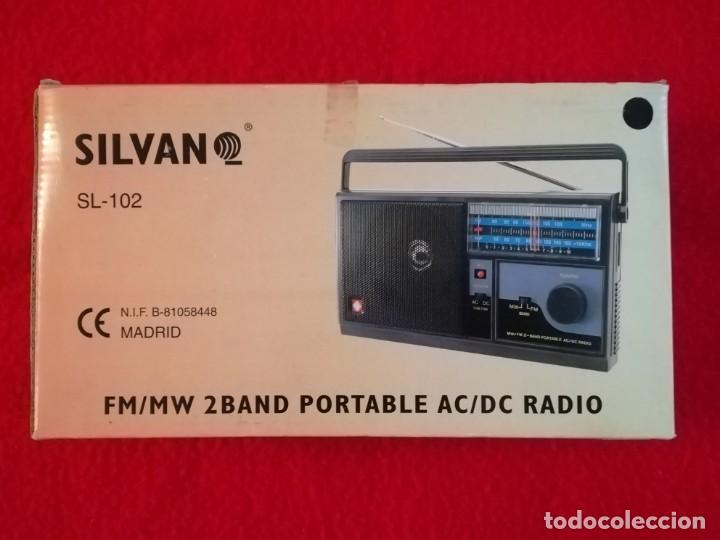Radios antiguas: RADIO SILVANO SL-102 AM/FM - Foto 8 - 193801571