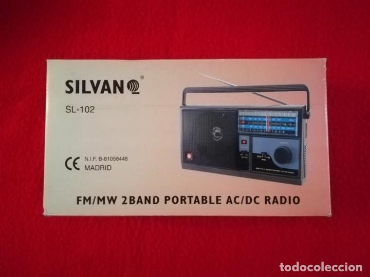 Radios antiguas: RADIO SILVANO SL-102 AM/FM - Foto 9 - 193801571
