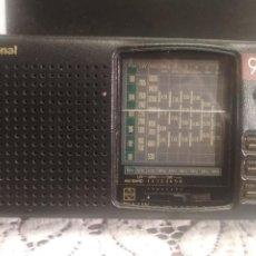 Radios antiguas: RADIO NATIONAL MULTIBANDA MOD 9L.PDELUXE.CON FUNDA ORIGINAL GRABADA MATSUSHITA INDUSTRIAS.JAPAN.. Lote 194061220
