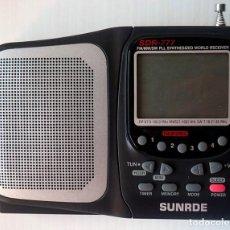 Radios antiguas: RADIO SUNRDE SDR-777. Lote 194202241
