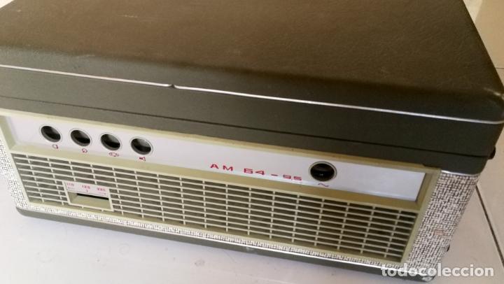 Radios antiguas: MAGNETOFONO INGRA AM 64 - COMPLETO Y FUNCIONANDO - Foto 3 - 194209430