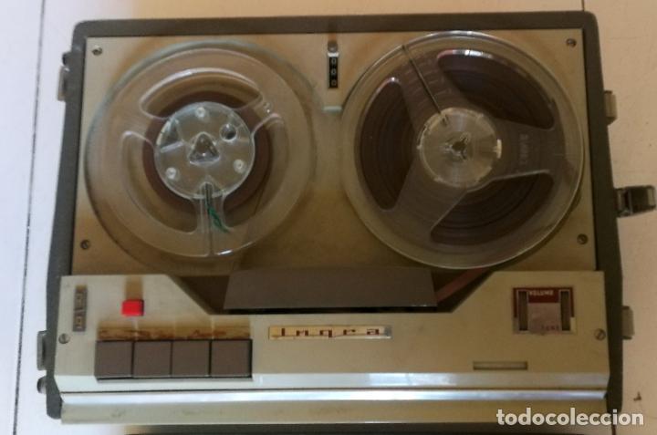Radios antiguas: MAGNETOFONO INGRA AM 64 - COMPLETO Y FUNCIONANDO - Foto 6 - 194209430