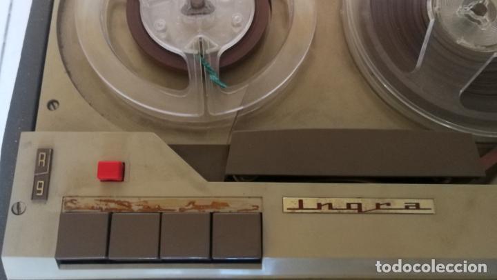 Radios antiguas: MAGNETOFONO INGRA AM 64 - COMPLETO Y FUNCIONANDO - CV - Foto 7 - 194209430