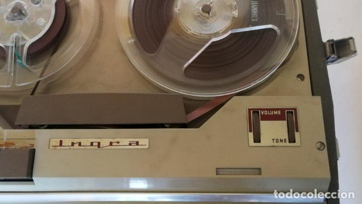 Radios antiguas: MAGNETOFONO INGRA AM 64 - COMPLETO Y FUNCIONANDO - Foto 8 - 194209430
