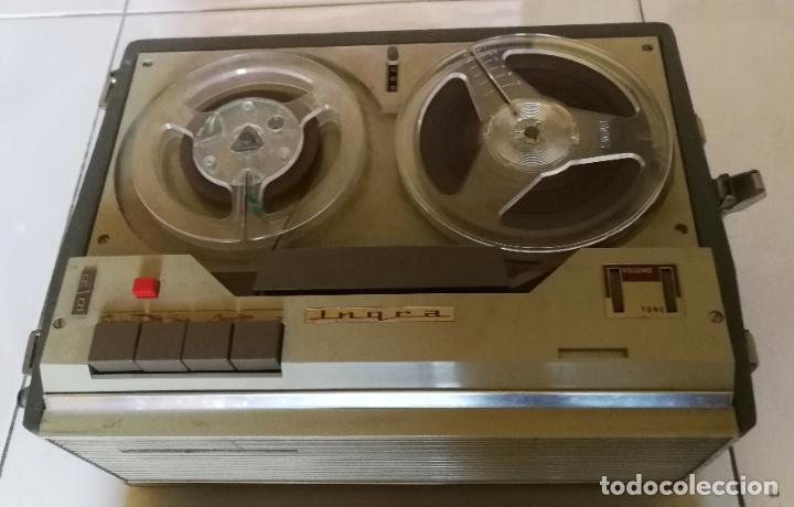 Radios antiguas: MAGNETOFONO INGRA AM 64 - COMPLETO Y FUNCIONANDO - CV - Foto 11 - 194209430