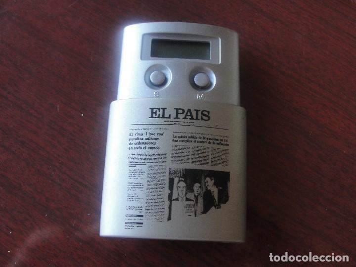 APARATO DE RADIO DIARIO EL PAIS - AÑOS 90 - ENVIO GRATIS (Radios, Gramófonos, Grabadoras y Otros - Transistores, Pick-ups y Otros)