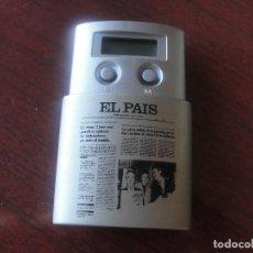 Radios antiguas: APARATO DE RADIO DIARIO EL PAIS - AÑOS 90 - ENVIO GRATIS. Lote 194210570