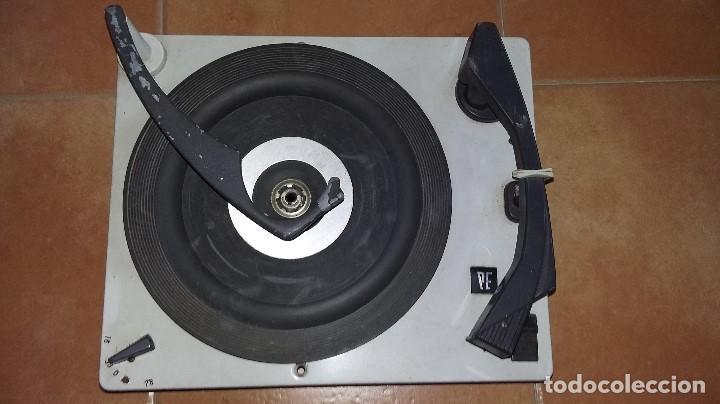 TOCADISCOS PERPETUUM EBNER PE 66. (Radios, Gramófonos, Grabadoras y Otros - Transistores, Pick-ups y Otros)