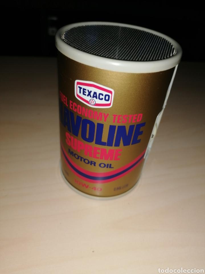 ANTIGUA RADIO TRANSISTOR TEXACO HAVOLINE (Radios, Gramófonos, Grabadoras y Otros - Transistores, Pick-ups y Otros)