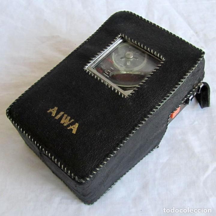 MAGNETÓFONO AIWA TP-60R (Radios, Gramófonos, Grabadoras y Otros - Transistores, Pick-ups y Otros)