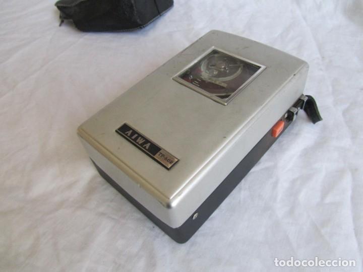 Radios antiguas: Magnetófono Aiwa TP-60R - Foto 8 - 194218838