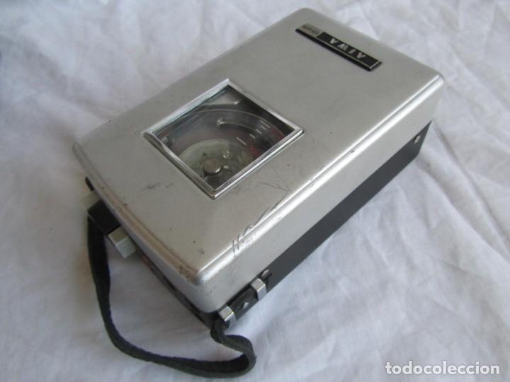 Radios antiguas: Magnetófono Aiwa TP-60R - Foto 9 - 194218838
