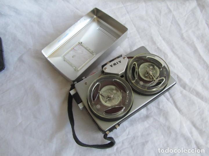Radios antiguas: Magnetófono Aiwa TP-60R - Foto 11 - 194218838