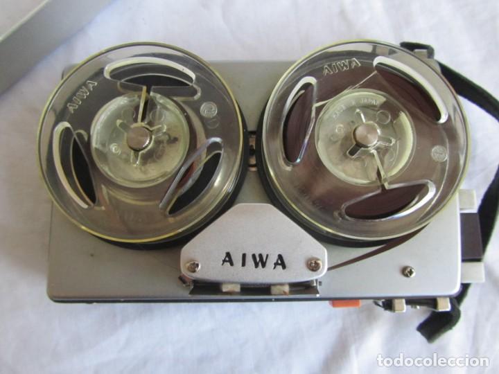 Radios antiguas: Magnetófono Aiwa TP-60R - Foto 12 - 194218838