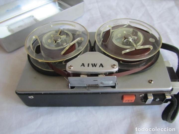 Radios antiguas: Magnetófono Aiwa TP-60R - Foto 13 - 194218838