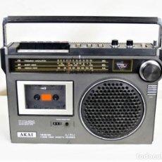 Radios antiguas: RADIO CASSETTE AKAY AJ-350 AÑO 1979. Lote 194221628