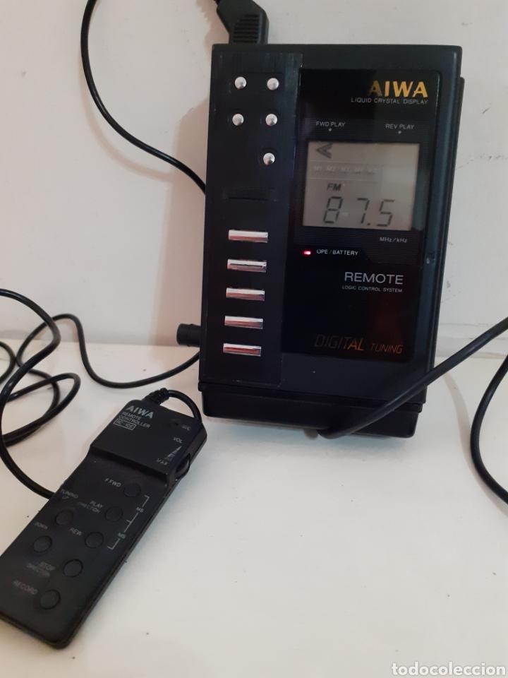 AIWA STEREO RECORDER RADIO CASETTE HS JX01 (Radios, Gramófonos, Grabadoras y Otros - Transistores, Pick-ups y Otros)