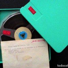 Radios antiguas: SALIDA DE LA MACARENA. GRABACIÓN RNE. SEMANA SANTA 1968. SEVILLA. . Lote 194300576