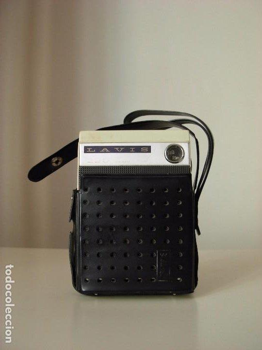 TRANSISTOR LAVIS 220 SOLID STATE RADIO (Radios, Gramófonos, Grabadoras y Otros - Transistores, Pick-ups y Otros)