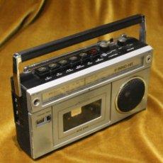 Radios antiguas: RADIO CASSETE INNO HIT,MODELO RR 620,MADE IN HONG-KONG.. Lote 194329286