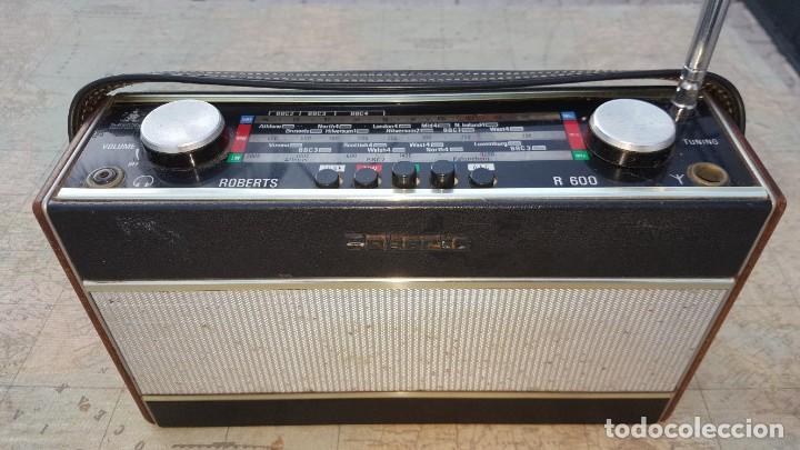 RADIO PORTATIL ROBERTS CO LTD R600 (Radios, Gramófonos, Grabadoras y Otros - Transistores, Pick-ups y Otros)