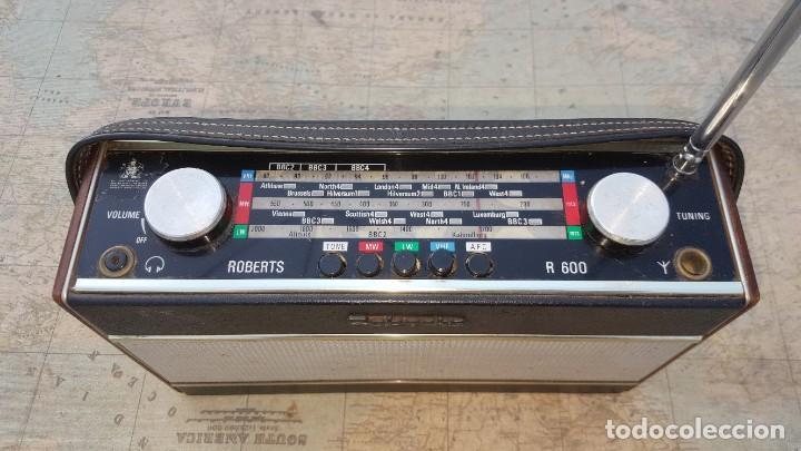 Radios antiguas: Radio portatil Roberts Co LTD R600 - Foto 2 - 194342265