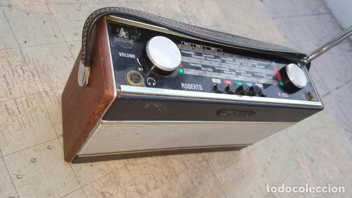 Radios antiguas: Radio portatil Roberts Co LTD R600 - Foto 3 - 194342265