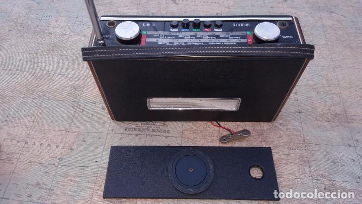 Radios antiguas: Radio portatil Roberts Co LTD R600 - Foto 4 - 194342265