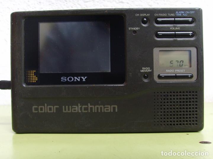 WATCHMAN DE SONY FDL-3500 (Radios, Gramófonos, Grabadoras y Otros - Transistores, Pick-ups y Otros)