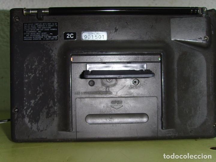 Radios antiguas: WATCHMAN DE SONY FDL-3500 - Foto 9 - 194343837