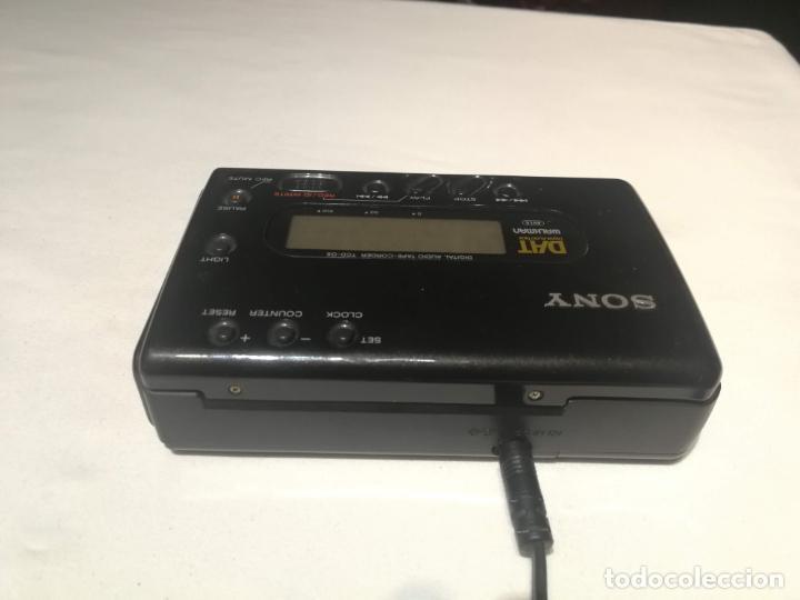 Radios antiguas: Walkman Sony DAT (digital audio tape) TCD-D8 - Foto 4 - 194358212