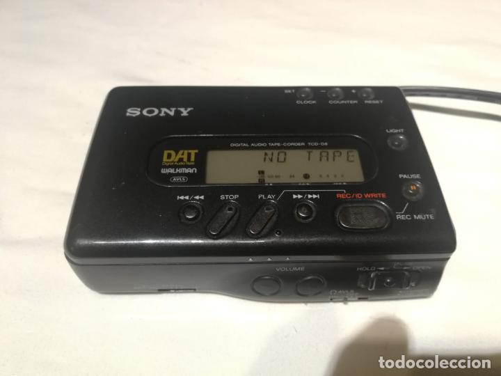 Radios antiguas: Walkman Sony DAT (digital audio tape) TCD-D8 - Foto 8 - 194358212