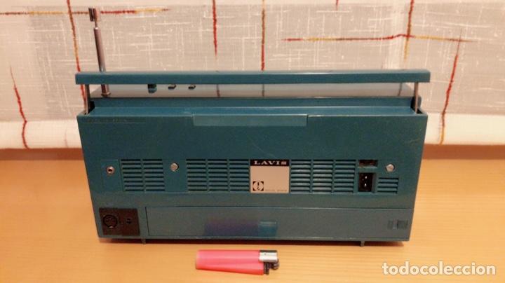 Radios antiguas: Radio LAVIS 922, ,funciona bien, Ver vídeo - Foto 15 - 194359865