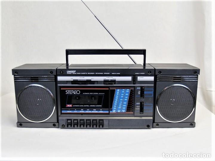 MINI CADENA UNISEF Z-1000S (Radios, Gramófonos, Grabadoras y Otros - Transistores, Pick-ups y Otros)