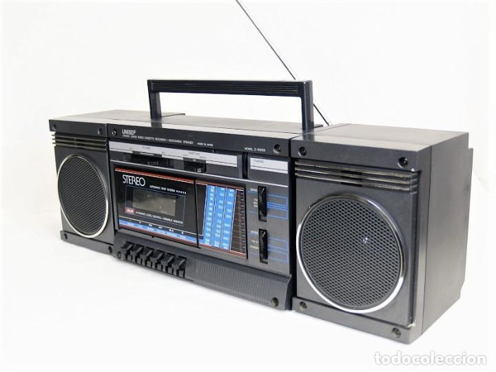 Radios antiguas: Mini cadena Unisef Z-1000S - Foto 4 - 194362250