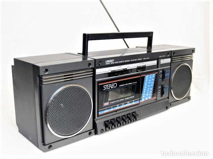 Radios antiguas: Mini cadena Unisef Z-1000S - Foto 5 - 194362250