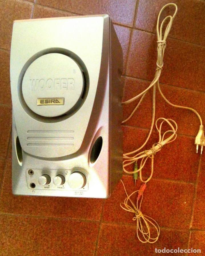 WOOFER ESIRA (Radios, Gramófonos, Grabadoras y Otros - Transistores, Pick-ups y Otros)
