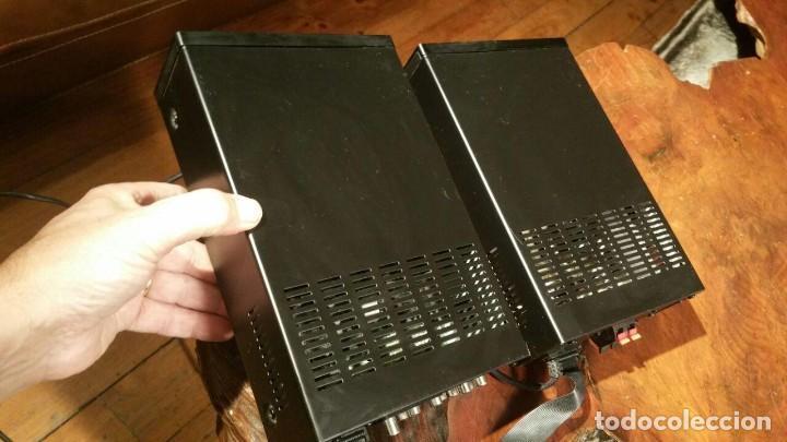 Radios antiguas: CONJUNTO VIETA VMO65OIP DE AMPLIFICADOR Y RADIO CD DVD MP3 MPG4 USB - FUNCIONANDO - Foto 8 - 194549500