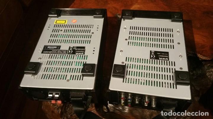 Radios antiguas: CONJUNTO VIETA VMO65OIP DE AMPLIFICADOR Y RADIO CD DVD MP3 MPG4 USB - FUNCIONANDO - Foto 9 - 194549500