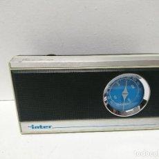 Radios antiguas: RADIO TRANSISTOR ÍNTER EUROMODUL 124 AM. Lote 194619983