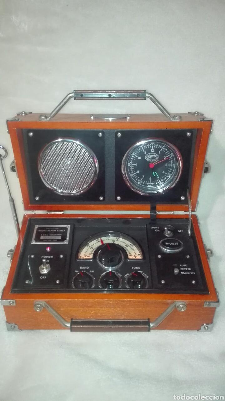 RADIO - DESPERTADOR SPIRIT OF ST LOUIS (Radios, Gramófonos, Grabadoras y Otros - Transistores, Pick-ups y Otros)