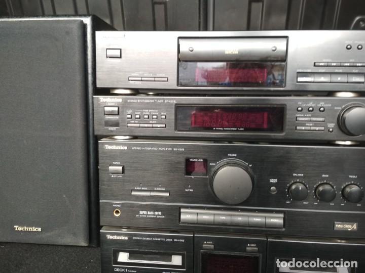 Radios antiguas: TECHNICS EQUIPO SU-X302 AMPLIFICADOR, RADIO PLETINA Y LECTOR CD/ SIN MANDO - Foto 4 - 194629162