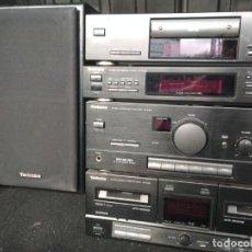 Radios antiguas: TECHNICS EQUIPO SU-X302 AMPLIFICADOR, RADIO PLETINA Y LECTOR CD/ SIN MANDO. Lote 194629162
