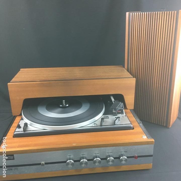 Radios antiguas: TOCADISCOS COMPACTO-BETTOR MARK 211-GIRADISCOS DUAL1211-PARA PUESTA A PUNTO - Foto 6 - 194770655