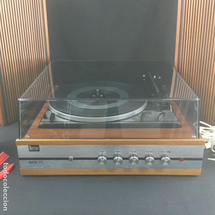 Radios antiguas: TOCADISCOS COMPACTO-BETTOR MARK 211-GIRADISCOS DUAL1211-PARA PUESTA A PUNTO - Foto 7 - 194770655