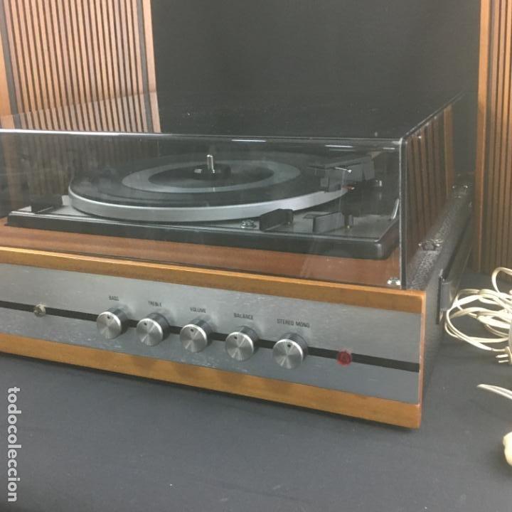 Radios antiguas: TOCADISCOS COMPACTO-BETTOR MARK 211-GIRADISCOS DUAL1211-PARA PUESTA A PUNTO - Foto 9 - 194770655