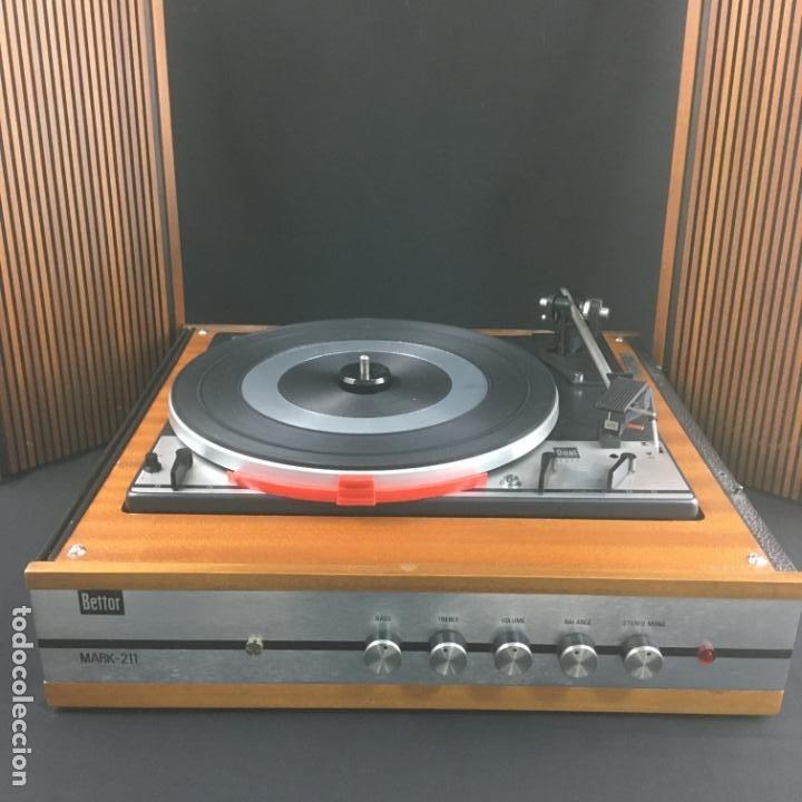 TOCADISCOS COMPACTO-BETTOR MARK 211-GIRADISCOS DUAL1211-PARA PUESTA A PUNTO (Radios, Gramófonos, Grabadoras y Otros - Transistores, Pick-ups y Otros)
