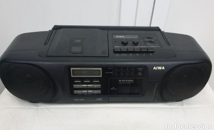 Radios antiguas: Radio casete Aiwa - Foto 2 - 194779182