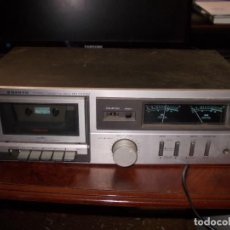 Radios antiguas: SANYO STEREO CASSETTE DECK MODEL RD3510M, MADE IN SPAIN, FUNCIONANDO PERO CON DEFECTOS. Lote 194881176